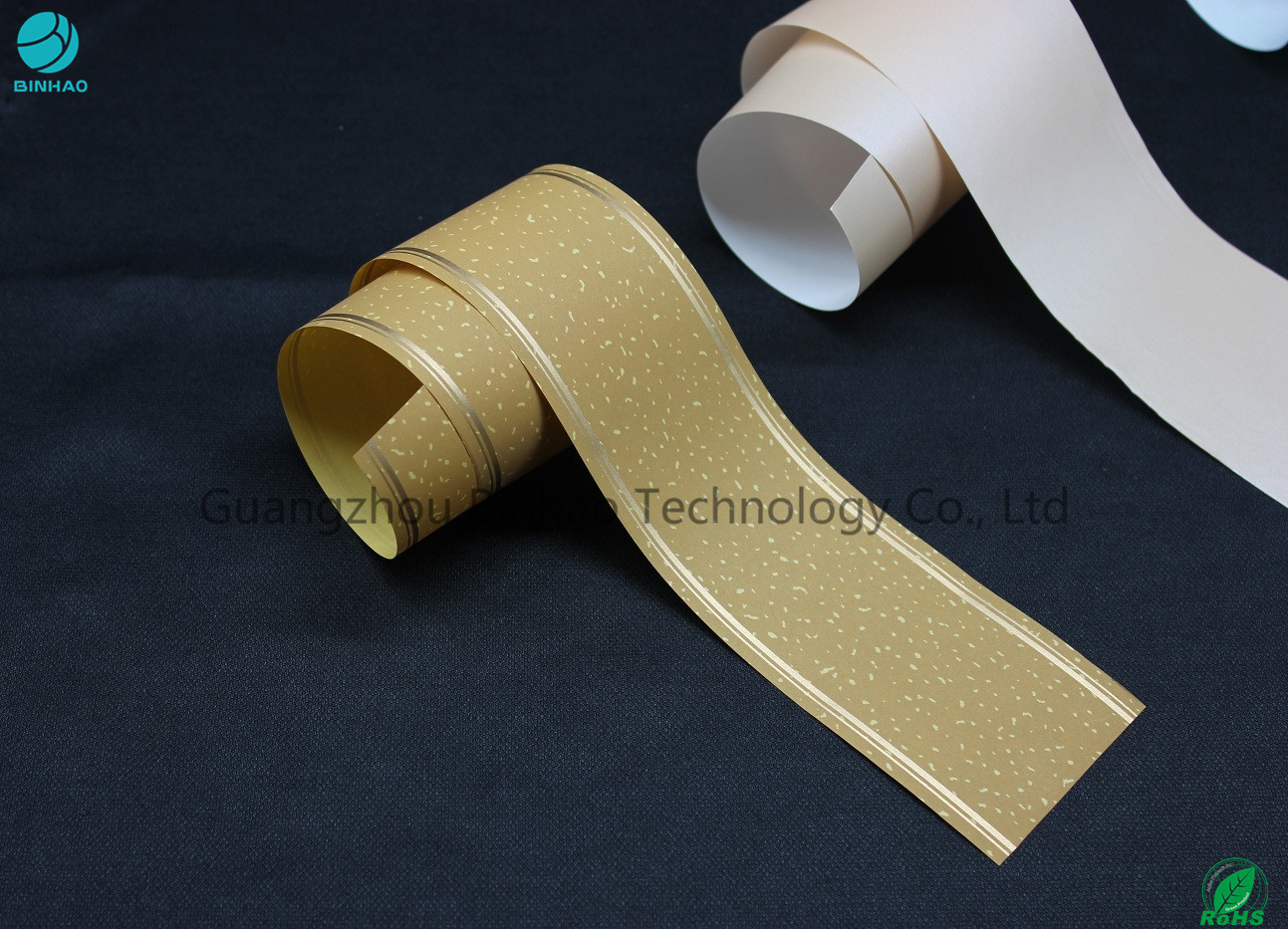 33g Customized Tipping Base Paper With Hot Stamping Logo Pattern / Cigarette Filter Packaging
